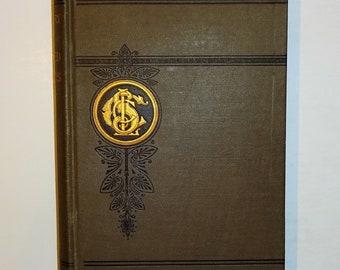 1887 UNITED STATES HISTORY for Chautauqua Reading Circles, Edward Hale, Maps