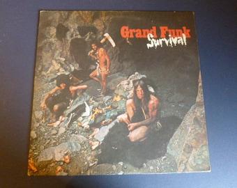 Grand Funk Survival Vinyl Record LP SW-764 Capital Records 1971