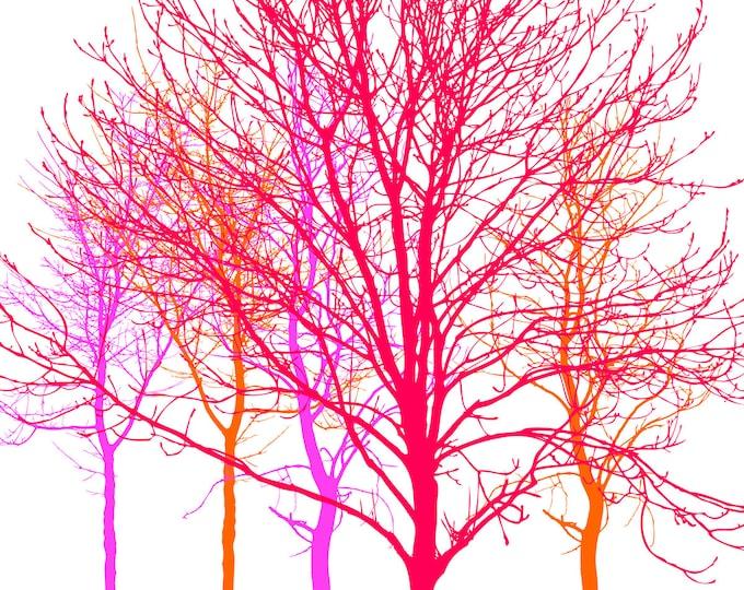Trees No. 1 - mltpl lamp shade