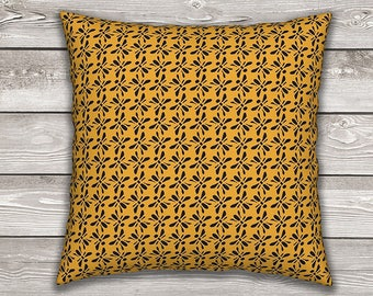 Bees Knees Throw Pillow Cover