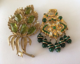 Vintage Brooch and Pendant for Repair or Craft