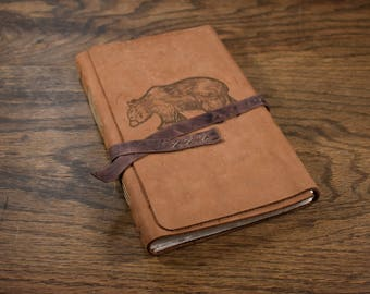The Wanderer Leather Journal - Bear