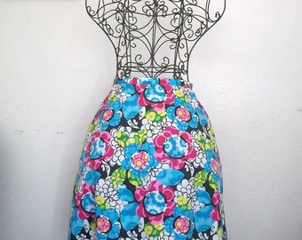 Aline Spring/Summer Pretty Flowers Skirt - One of a Kind