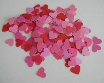 Scatter Hearts - Share Joy punched hearts