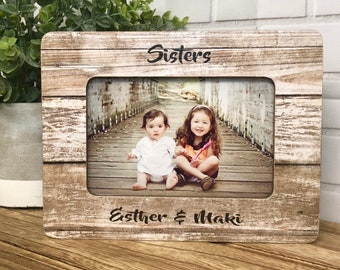 Sister Frame| Gift For Sister| Personalized Sister| Personalized Frame| Personalized Gift| - 5x7 Frame- 4x6 Frame