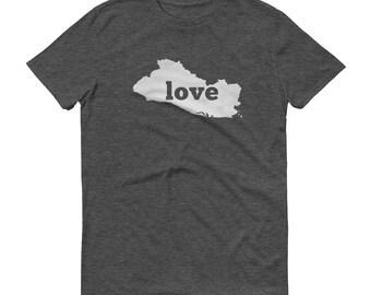 El Salvador, El Salvador Clothing, El Salvador Shirt, El Salvador T Shirt, El Salvador TShirt, El Salvador Map, Gifts, Made in El Salvador