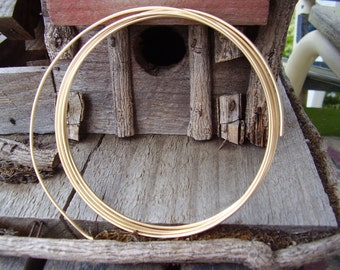 14 GauGe Gold FilLed WiRe - 6 inches