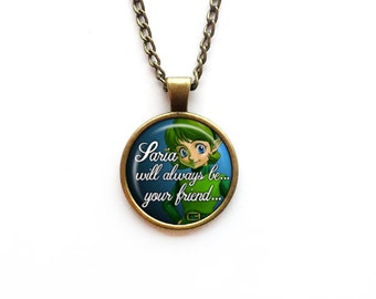 Necklace Saria The Legend of Zelda: Ocarina of Time Quote