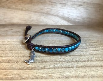 Mermaid Single Wrap Bracelet