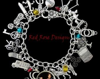 Teen Wolf Themed Charm Bracelet