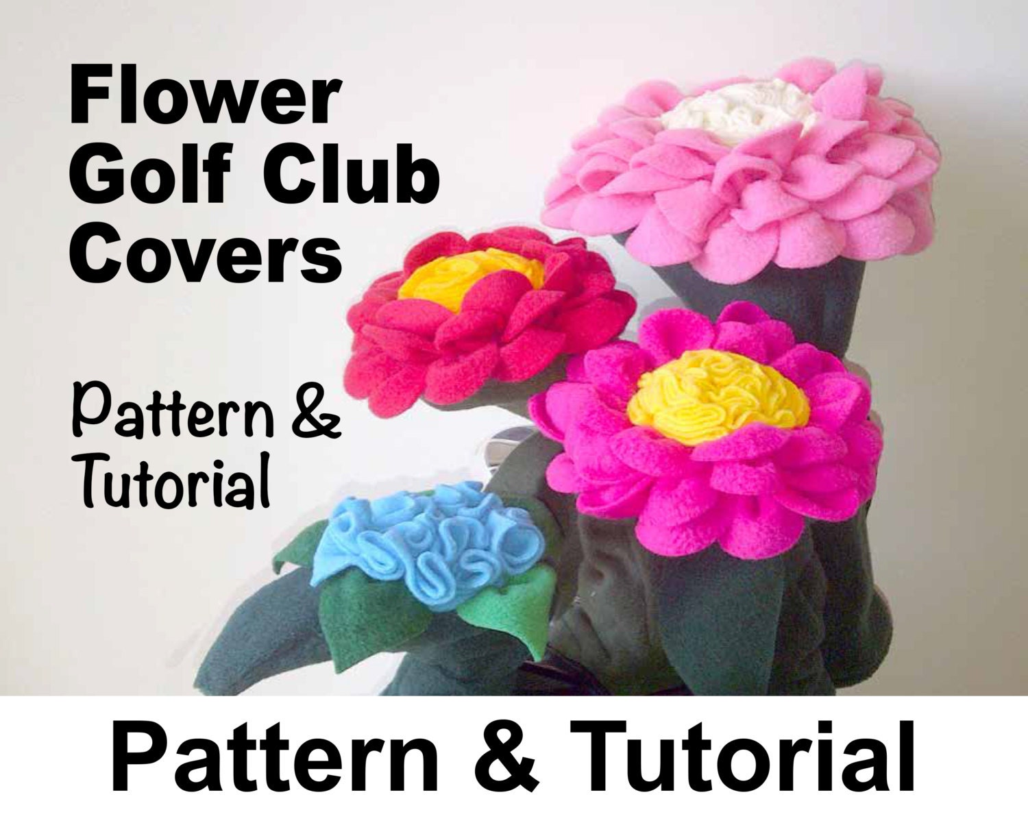 Flower golf club head covers sewing pattern pdf zoom jeuxipadfo Choice Image