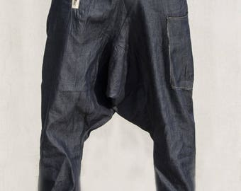 Clusterstone-Flex Denim Drop Crotch Trousers