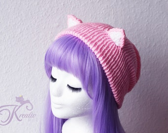 Catear-Beanie (babypink)