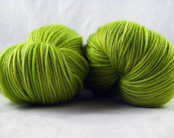 Olive Juice - Hand Dyed Soft Sock Superwash MCN Fingering/Sock Yarn