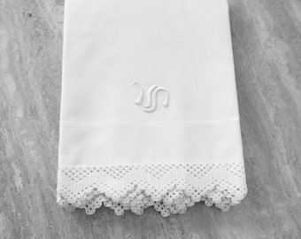 Pair of Percale Pillowcases