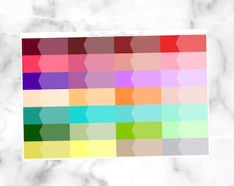 Spring Multicolor Appointment Label // Functional Stickers