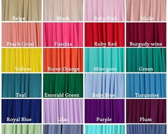 FREE Fabric Swatches / Fabric Sample: up to  6 COLORS , Pls READ Listing Description to See How to Order