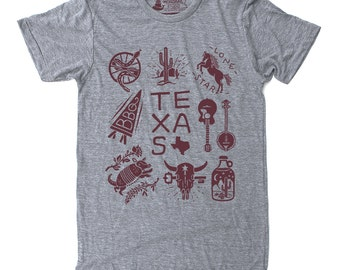 Gift for Dad Ideas, Mens Gift, Texas Tee Shirt, Graphic Tee- Texas shirt
