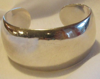 Sterling Silver Cuff Bracelet from Mexico
