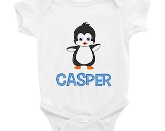 Casper Penguin Infant Bodysuit
