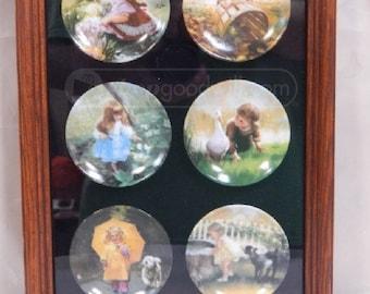 Donald Zolan Childhood Discovery Miniature Plates