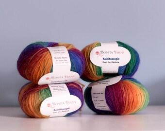 Kaleidoscopic yarn discontinued  Over the Rainbow