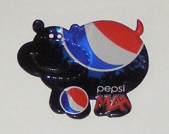 Hippo Magnet  - Pepsi MAX Soda Can