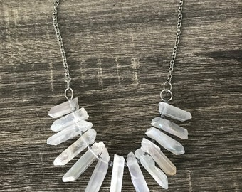 Opal Aura Point Necklace