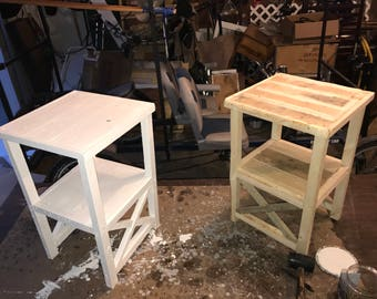 X End Tables