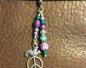 Give Peace a Chance Planner Charm