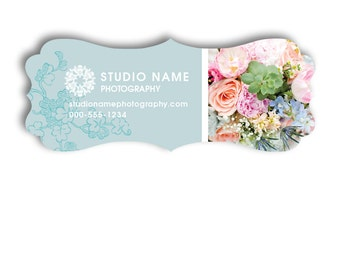 Wedding Photography Marketing Referral Card Template - Ornate Card - LOVE STORY - 1067