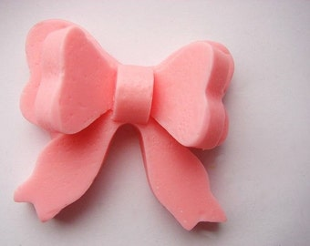 Pink Bow Soap