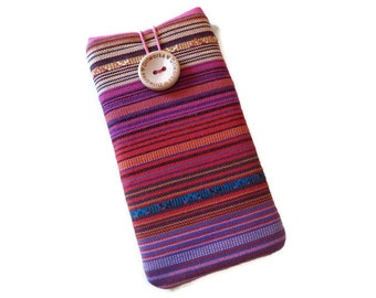 iPhone 7 cover ethnic iPhone SE Sleeve Tribal iPhone 6 Plus Pouch iPhone 7 PlusFabric Case iphone 5 cloth Ethnic Fabric