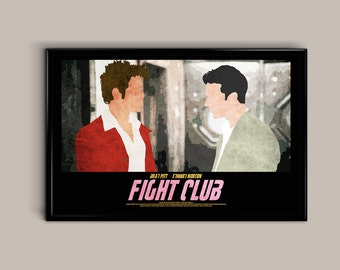 Fight Club 17 x 11 Movie Poster