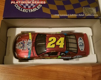 Jeff Gordon chromalusion 1:24 scale 1998 limited edition Monte carlo.  New in box original packaging excellent condition.
