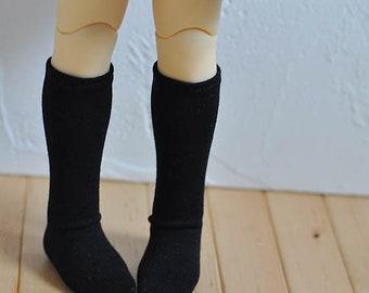 BJD black socks for MSD yosd size