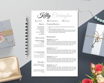 resume templates cv templates by laurelresume on etsy