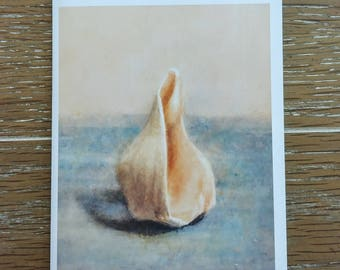 "O'Lily Art ""Sea Treasure"" Blank Note Cards w/Envelopes (5 ct.)"