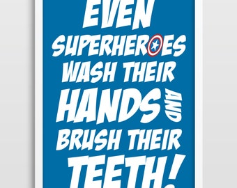 Superhero, Superheroes, Superhero Wall Art, Kids Poster, Kids Art Print, Superhero Art Print, Bedroom Decor, Kids Wall Art.