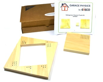 Garage Physics Pythagorean Theorem Puzzle Kit