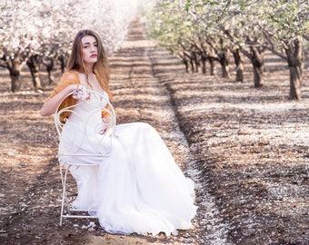 Bridal Lace Bolero, Versatile Shawl- Shrug, Shawl, Scarf, Twist. Bridal Shrug, Bridesmaids Boleros, Wedding Cover Up, Bridal Lace Wrap Shawl