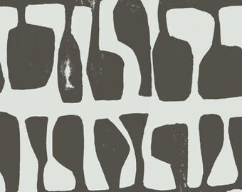 Follie in Charcoal - Follie - Lotta Jansdotter - Windham Fabrics - 1 Yard Ask a Question