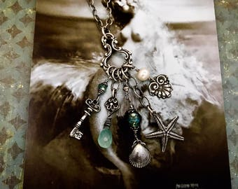 The Mermaid's Charmcatcher Necklace