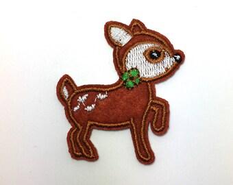 Baby Deer - Iron on Appliqué Patch