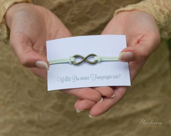 Bracelet-Do you want to be my maid? Wedding, bride, marriage