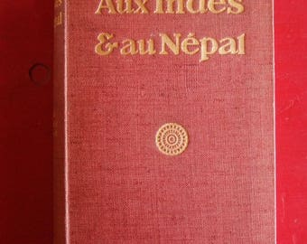 "Book ""The Nepal and India"" 1907 - doctor Kurt Boeck"