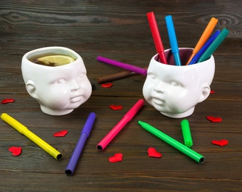 Ceramic Mug, Coffe Cup, Unique Gift, Baby-Cup, Modern Ceramics, Cute Cup, Unique Mug, Tea Cup, Home Decor, Gift