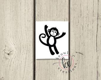 Monkey Vinyl Decal