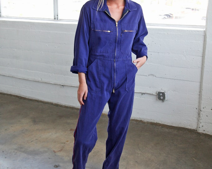 Cotton Coveralls - less faded