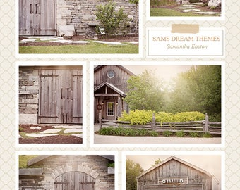 Country Digital backdrop, country background, summer backdrop, summer background, spring backdrop, Spring background, wood backdrop, farm